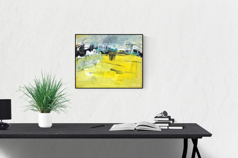 Urban Skyline by Milena Gaytandzhieva, 40x50 cm