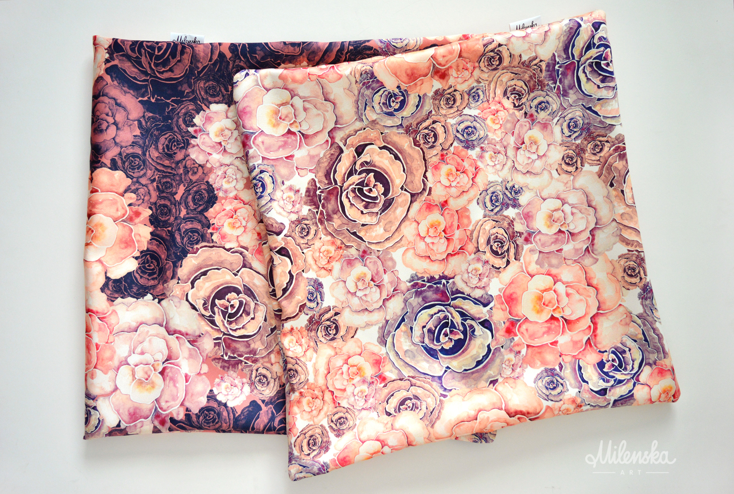 Decorative Pillowcases by Milena Gaytandzhieva