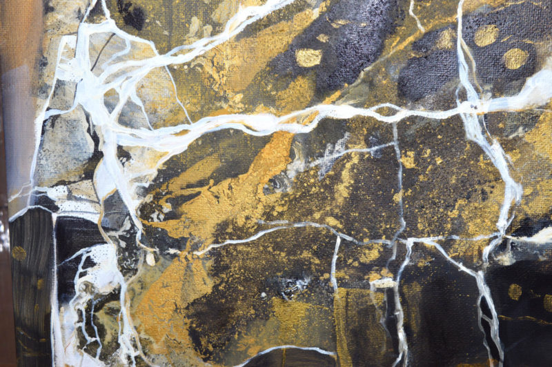 Marble abstract painting