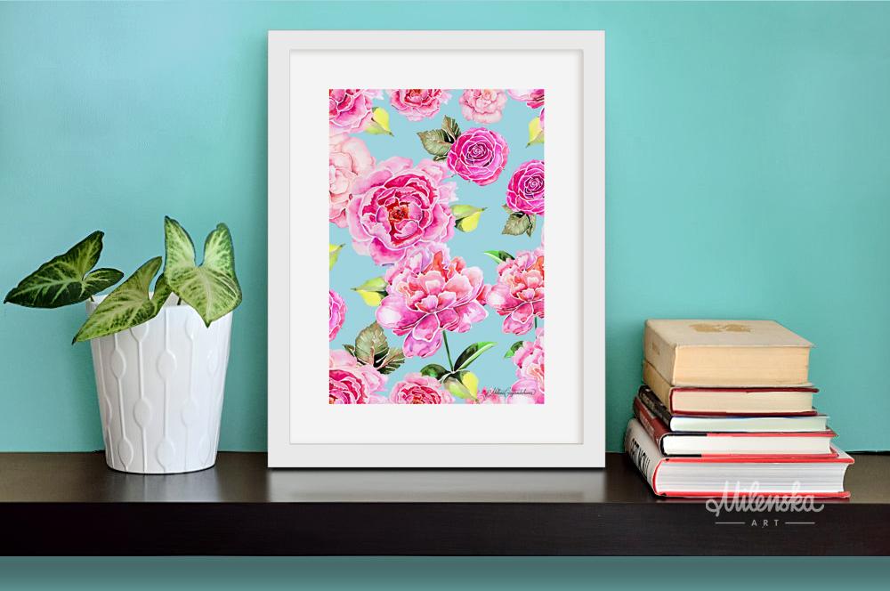Spring feeling - Artwork by Milena Gaytandzhieva - Artist & Designer