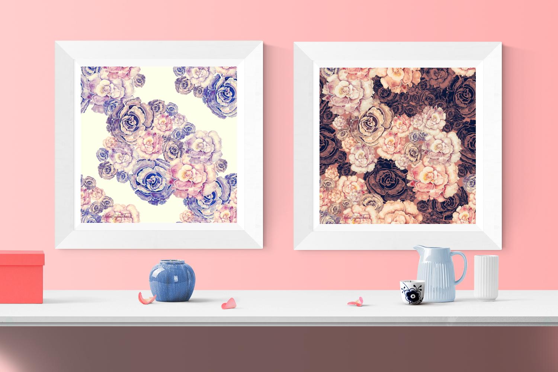 Pattern design collection by Milena Gaytandzhieva