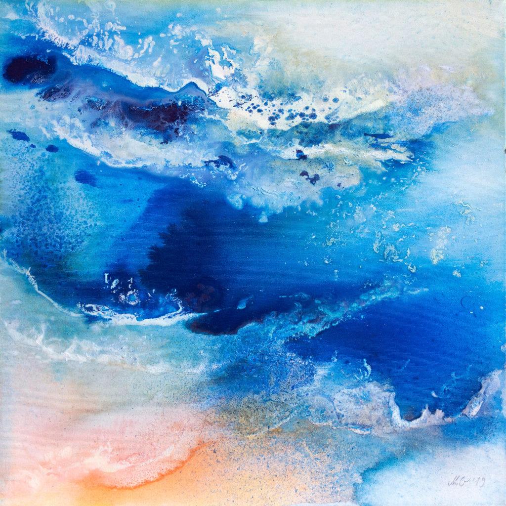 Marina1 - Seascape painting by Milena Gaytandzhieva