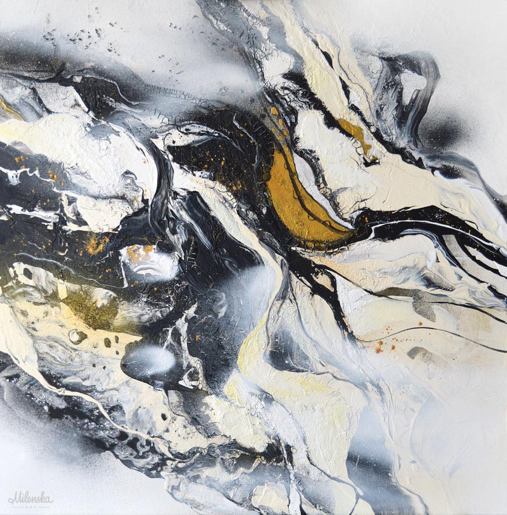 Black&White 1 - original painting by Milena Gaytandzhieva