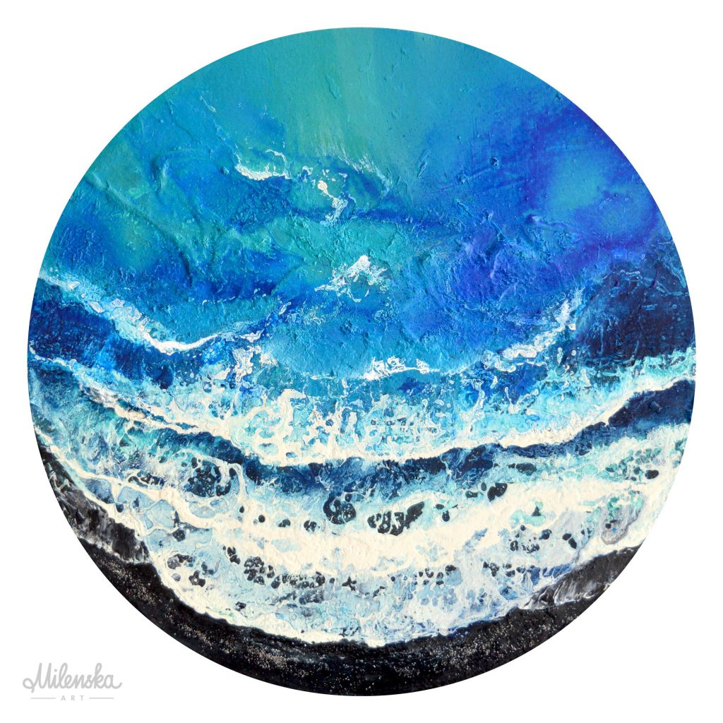 Exotic Shore Painting by Milena Gaytandzhieva