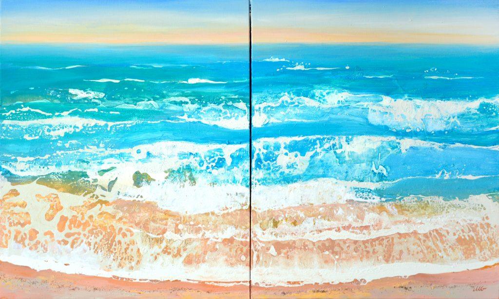 Sea Memories 2 by Milena Gaytandzhieva`s Painying