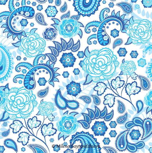 Paisley Pattern Design