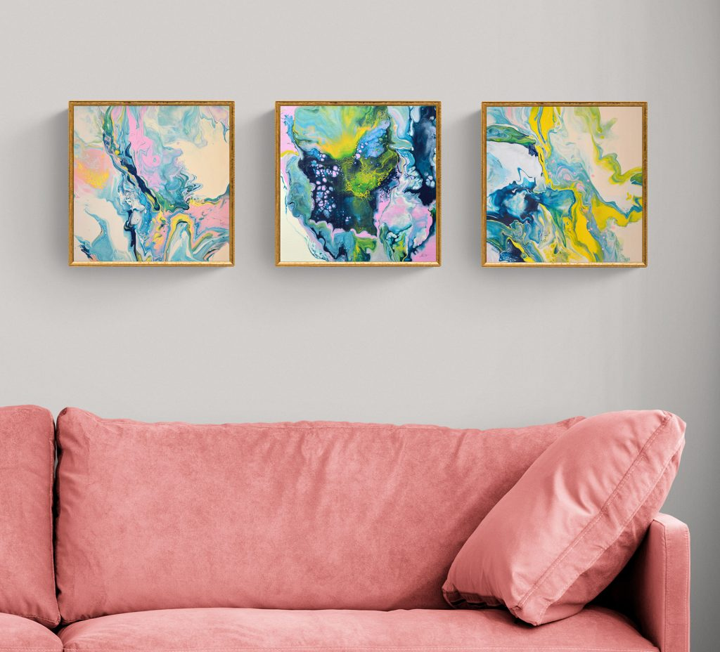 Small original paintings foe sale by Milena Gaytandzhieba