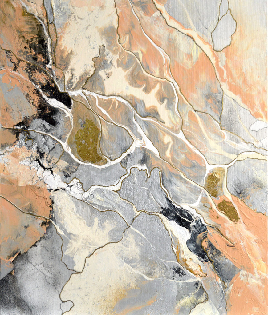 Marble World 6 - original painting