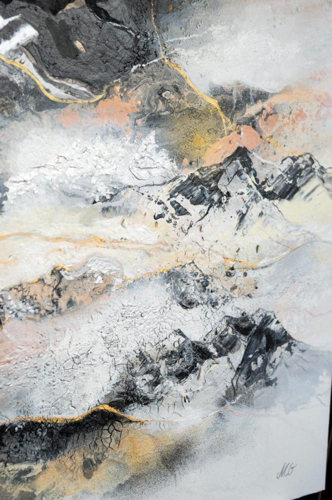 Abstract painting by Milena Gaytandzhieva
