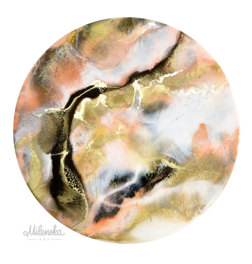 original resin artwork by Milena Gaytandzhieva
